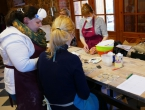 Loomemajas jagati teadmisi traditsioonilisest keraamikast